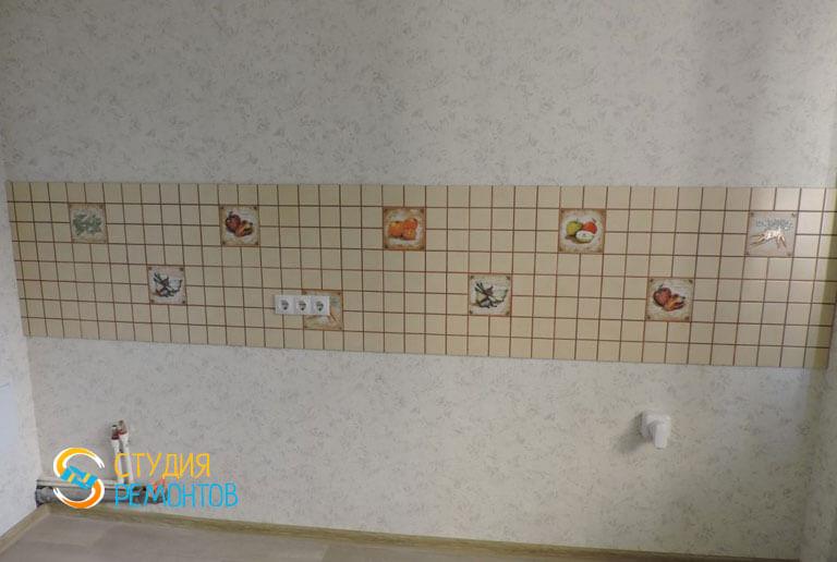 Косметический ремонт квартиры 43 кв.м. Кухня, фото-1