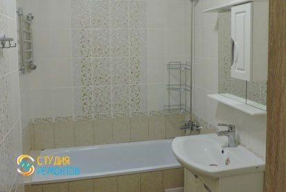 Косметический ремонт квартиры 43 кв.м. Санузел