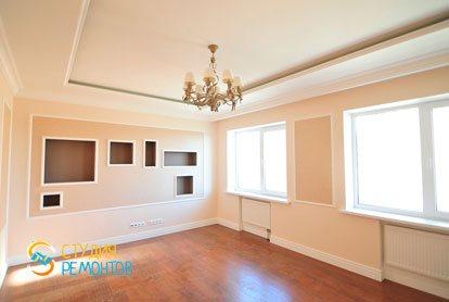 Евроремонт гостиной в квартире 44 кв.м. фото 3