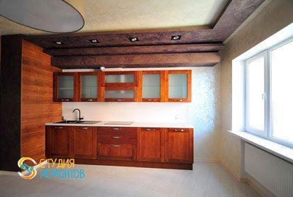 Евроремонт кухни в квартире 44 кв.м. фото 1