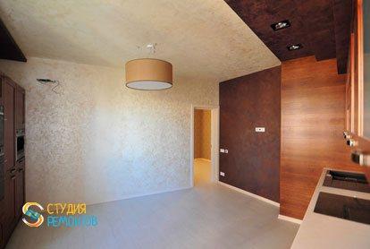 Евроремонт кухни в квартире 44 кв.м. фото 3