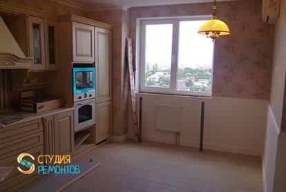 Косметический ремонт кухни в квартире 44 кв.м.