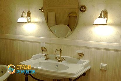 Косметический ремонт совмещенного санузла в квартире 44 кв.м. фото 1
