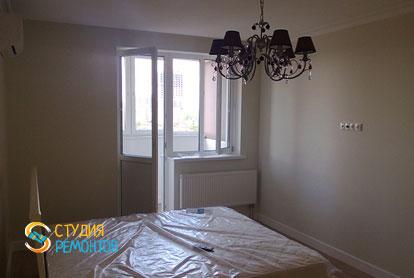 Косметический ремонт спальни в квартире 44 кв.м. фото 1