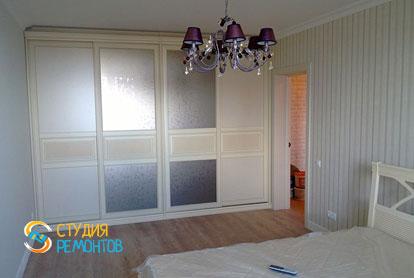 Косметический ремонт спальни в квартире 44 кв.м. фото 2