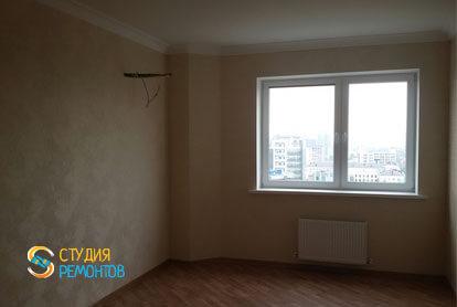 Косметический ремонт гостиной комнаты в квартире 44 м2 фото 1