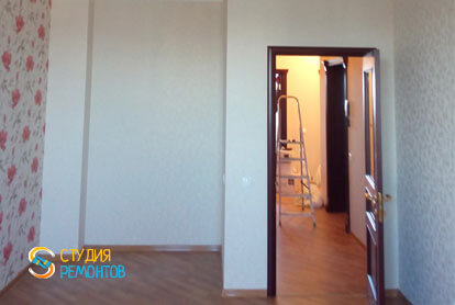 Косметический ремонт спальной комнаты в квартире 44 м2 фото 1