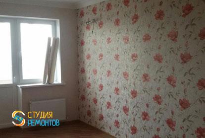 Косметический ремонт спальной комнаты в квартире 44 м2 фото 2
