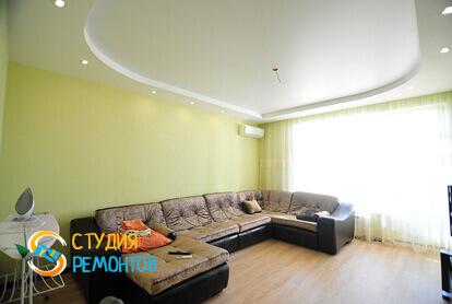 Капитальный ремонт гостиной комнаты в квартире 45 м2 фото 1