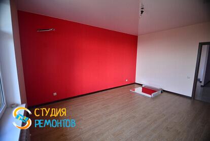 Капитальный ремонт гостиной в квартире 45 кв.м. фото 1