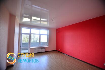 Капитальный ремонт гостиной в квартире 45 кв.м. фото 2