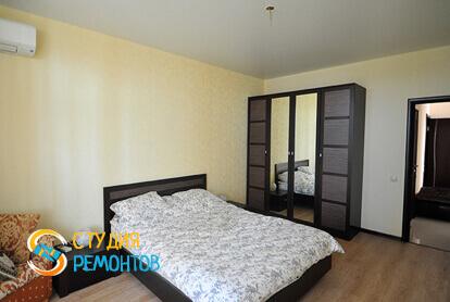 Капитальный ремонт спальной комнаты в квартире 45 м2 фото 1