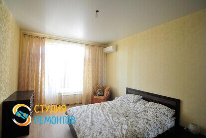 Капитальный ремонт спальной комнаты в квартире 45 м2 фото 2