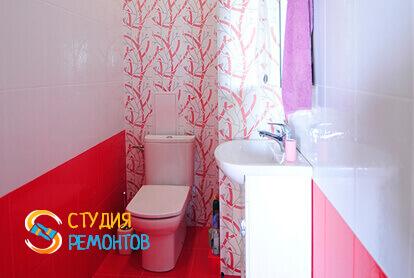 Капитальный ремонт туалетной комнаты в квартире 45 м2