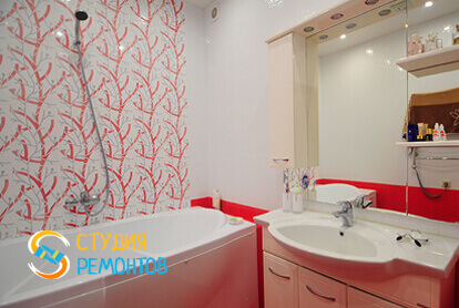 Капитальный ремонт ванной комнаты в квартире 45 м2