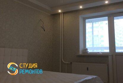 Капремонт спальни в квартире 45 кв.м.
