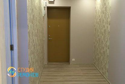 Евроремонт прихожей в квартире 46 кв.м.