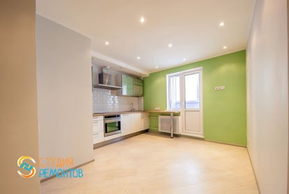 Евроремонт в двухкомнатной квартире 46 м2 - Кухня