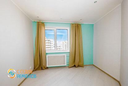 Евроремонт в двухкомнатной квартире 46 м2 - Спальня
