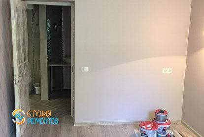 Евроремонт жилой комнаты в квартире 46 кв.м. фото-1