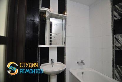 Евроремонт ванной в квартире 50 кв.м.
