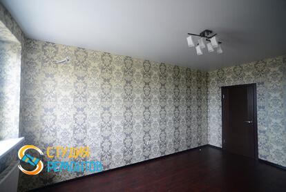 Косметический ремонт гостиной в квартире 50 кв.м. фото 1
