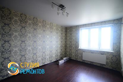 Косметический ремонт гостиной в квартире 50 кв.м. фото 2