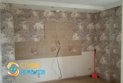 Косметический ремонт кухни в квартире 50 кв.м. фото 2