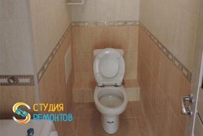 Косметический ремонт туалета в квартире 50 м2