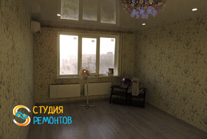 Косметический ремонт комнаты в квартире 50 м2 фото 1