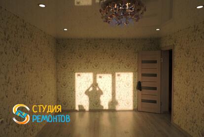 Косметический ремонт комнаты в квартире 50 м2 фото 2