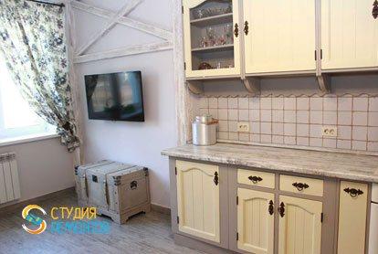 Евроремонт кухни в квартире 52 кв.м. фото 1