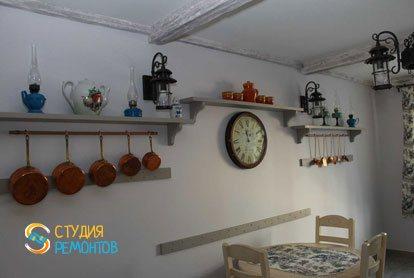 Евроремонт кухни в квартире 52 кв.м. фото 3