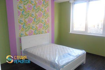 Евроремонт спальни в квартире 52 м2 фото 1