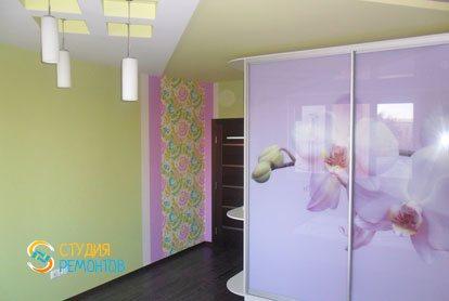 Евроремонт спальни в квартире 52 м2 фото 2