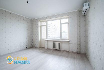 Косметический ремонт спальни в квартире 52 кв.м. фото 1