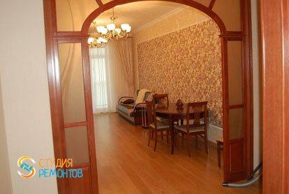 Ремонт гостиной в квартире 53 м2 в Переделкино