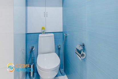 Ремонт туалета в евродвушке 53 кв.м. в Химках