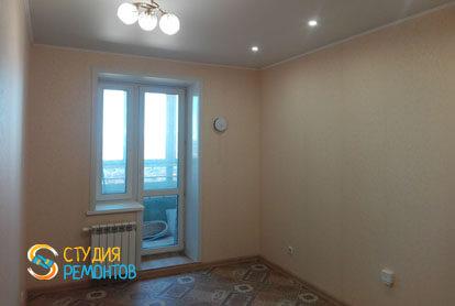 Косметический ремонт комнаты в квартире 54 кв.м. фото 1