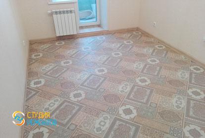 Косметический ремонт комнаты в квартире 54 кв.м. фото 2