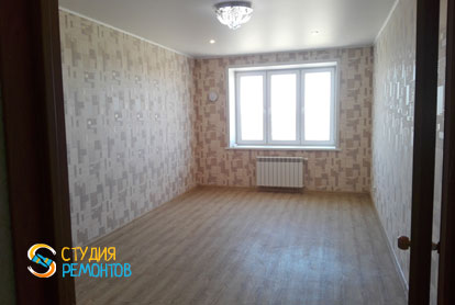 Косметический ремонт спальни в квартире 54 кв.м. фото 1