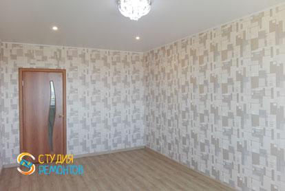 Косметический ремонт спальни в квартире 54 кв.м. фото 2
