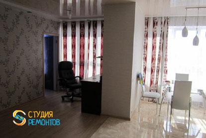 Косметический ремонт кухни-зала в квартире 54 м2 фото 2