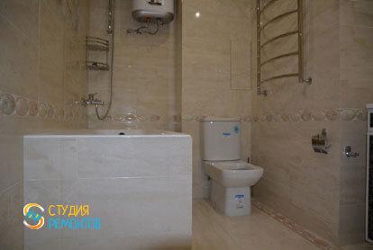 Косметический ремонт санузла в квартире 54 м2 фото 1