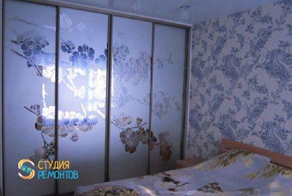 Косметический ремонт спальни в квартире 54 м2