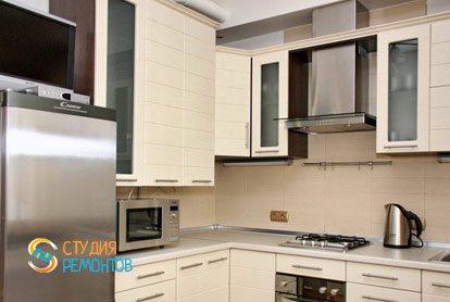 Ремонт кухни в квартире 55 кв.м. в Митино