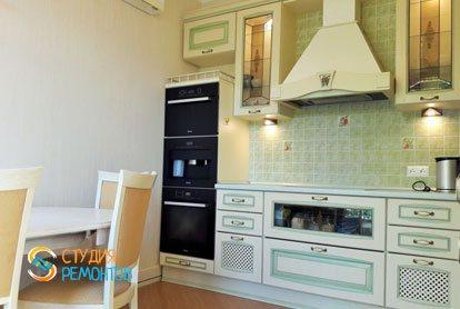 Ремонт кухни в квартире 55 м2 в Раменках