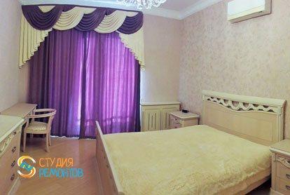 Ремонт спальни в квартире 55 м2 в Раменках