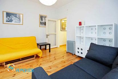 Ремонт жилой комнаты в квартире 55 м2 в Печатниках