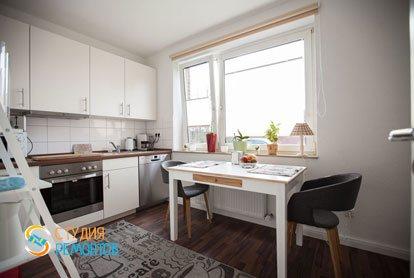 Ремонт кухни в квартире 56 м2 в Трехгорке